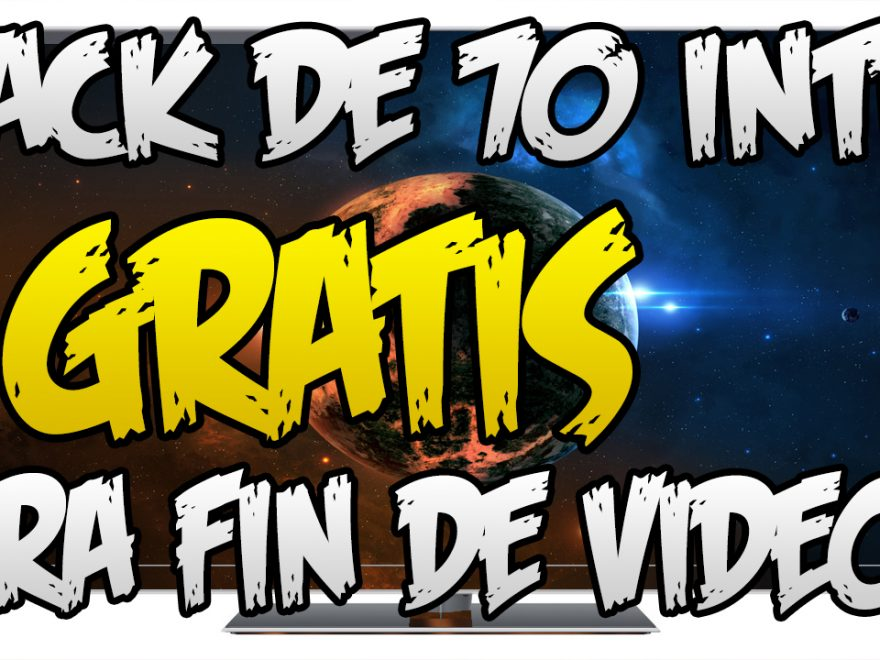 Pack De 70 Intros Para Fin De los Vídeos
